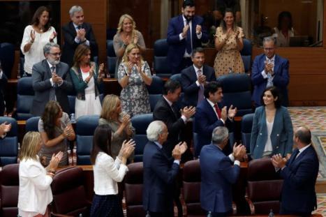 La primera promesa de Díaz Ayuso será una rebaja del IRPF a los ricos