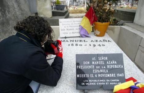 Mañana domingo el gobierno homenajeará al Manuel Azaña