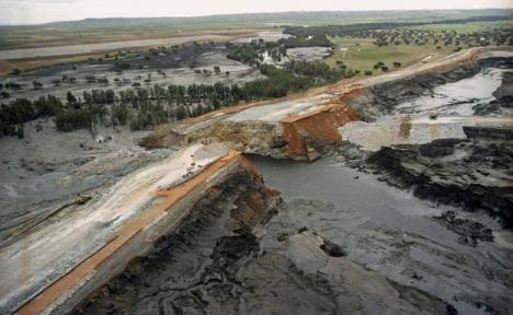 La Junta sigue reclamando a Boliden 89 millones de euros por la recuperación de la zona del vertido