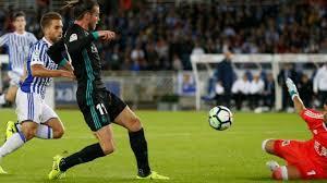 El Madrid,sin Cristiano, pero con Bale y Mayoral golea a la Real.
