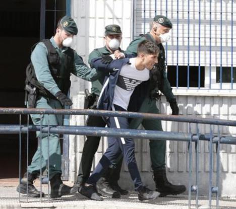 Detienen al 'Banano' tras atropellar a un guardia civil en Granada