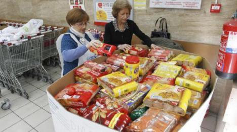 Comienza la campaña de recogida del Banco de Alimentos en Andalucía, Ceuta y Melilla.