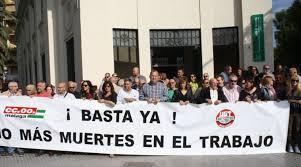 Segunda víctima laboral en Málaga en 24 horas
