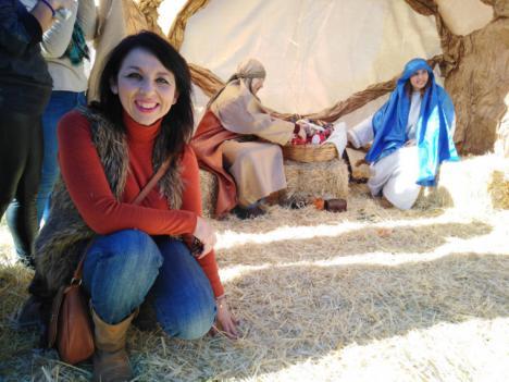 Un año mas el Belén Viviente de Turrillas cobra vida gracias a los vecinos