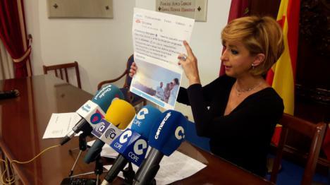 El PP de Lorca confirma en rueda de prensa que el edil de Ciudadanos Francisco Morales