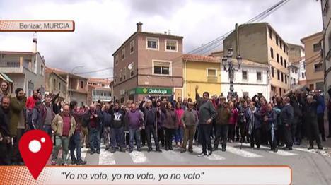 Benízar, el pueblo de Murcia en el que ninguno de sus habitantes votará el próximo 28 de abril