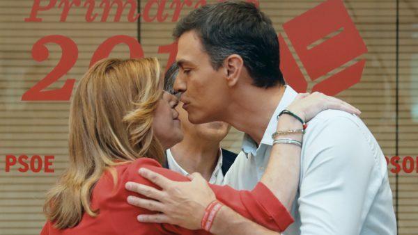 El PSOE GOBERNARÁ ANDALUCÍA, SIN SUSANA DÍAZ, GRACIAS AL BESO ENVENENADO DE PEDRO SÁNCHEZ