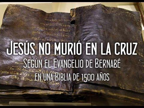 La Biblia que dice que Jesús no fue crucificado