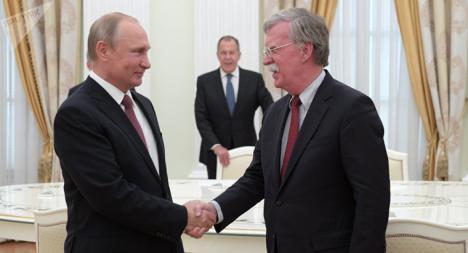 John Bolton amenaza a quienes compliquen el regreso de Guaidó a Venezuela