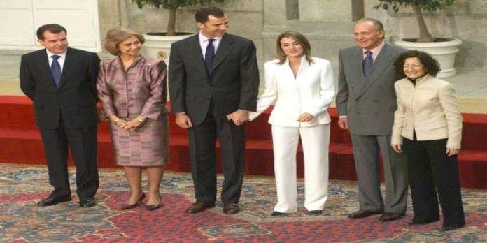 Juan Carlos y Leticia, no se tragan