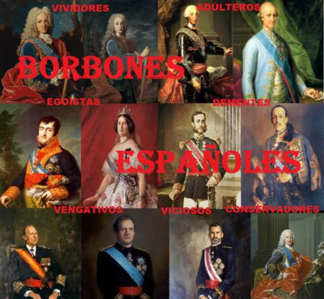 Los Borbones, una saga llena de viciosos y tarados. Va por ti, Valtonyc