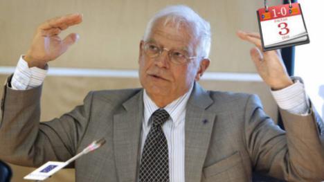 Borrell, ministro de Exteriores