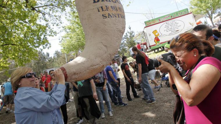 39ª edición Fiesta del vino del Ulla (Festa do Viño da Ulla) en la localidad de San Miguel de Sarandón, municipio de Vedra.