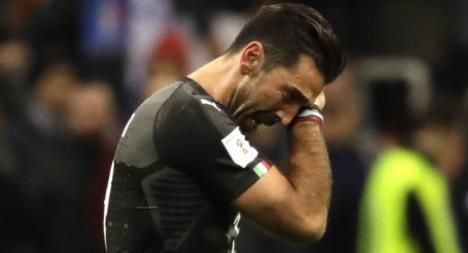 Italia llora