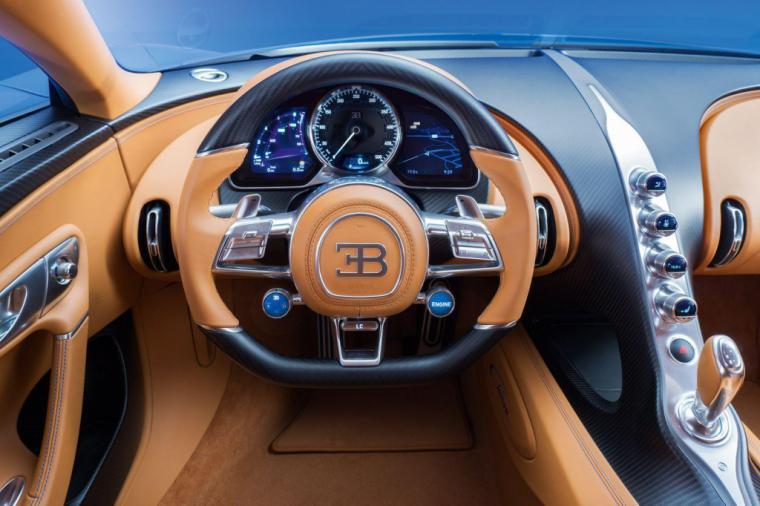 El Bugatti Chiron