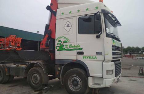 15.000 euros para quien le ayude a encontrar su camión robado en la Feria de Málaga