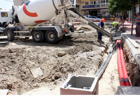 Albox pierde el 40% de agua potable por unas tuberías obsoletas y rotas, denuncia la Plataforma (Delider).