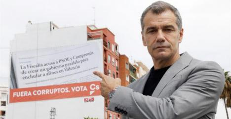 Toni Cantó diputado de Ciudadanos habría cobrado sus trabajos como actor a través de una sociedad para ahorrar impuestos