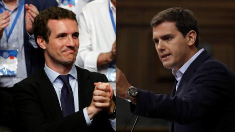 La derecha se moviliza contra Sánchez