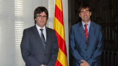 El subdelegado del Gobierno en Gerona amenazado por cargos separatistas cuando asistía a un partido de baloncesto