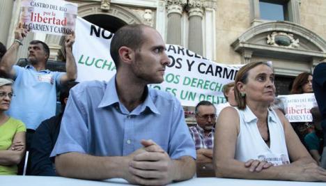 Carlos Cano y Carmen Bajo, los granadinos condenados por un piquete en la huelga general del 29M de 2012, indultados por el ejecutivo de Pedro Sánchez