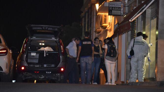 La Guardia Civil localiza dos cadáveres en Cartaya dentro de un pozo