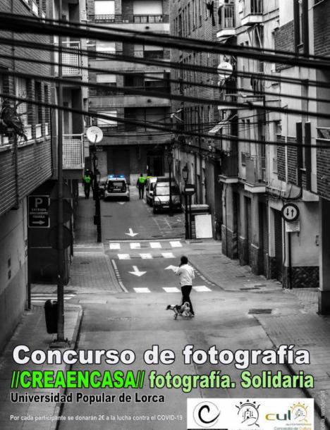 La Universidad Popular de Lorca organiza el Concurso de Fotografía 'Crea en Casa' para ejercitar la capacidad creativa durante este periodo de confinamiento