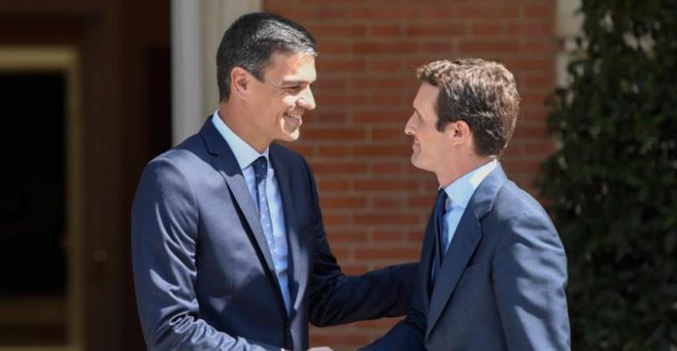 El PSOE descarta un Gobierno con Podemos e invita a Cs a abstenerse
