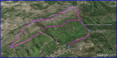 Ruta por el paraje Natural de la Sierra Crestellina