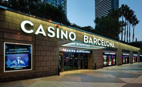 Seis georgianos estafan al casino de Barcelona