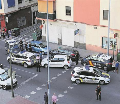 Fallece una anciana de 85 años al caer de un sexto piso en Castelló