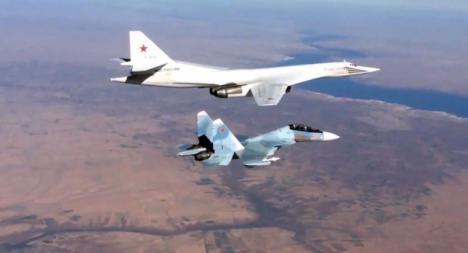 Tensión cuando el Su-27 ruso se encuentra con con un avión de reconocimiento de EEUU