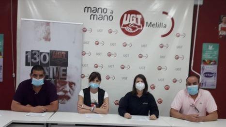 UGT-FICA Melilla se reúne con el Director General de Sostenibilidad para trasladarle el acoso, discriminación y persecución sindical de la ITV de IVESUR hacia nuestra Delegada de Personal