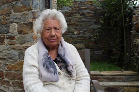 Charito, la abuela de Patones, concejala con 95 años