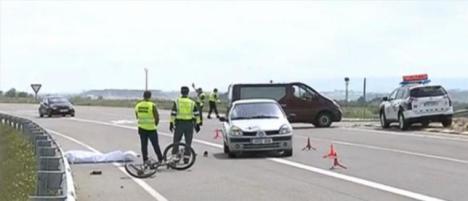 Un ciclista fallece atropellado en Ejea de los Caballeros