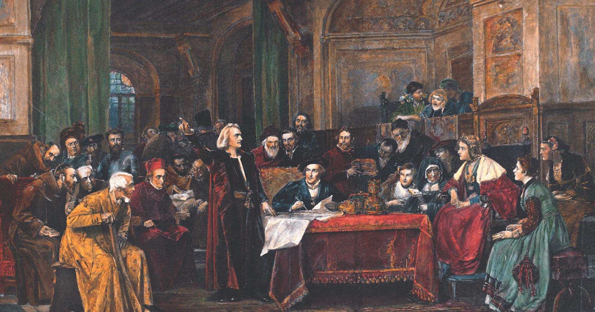 'El Antiguo Régimen', por Pedro Cuesta Escudero, autor de 'Mallorca, patria de Colón'