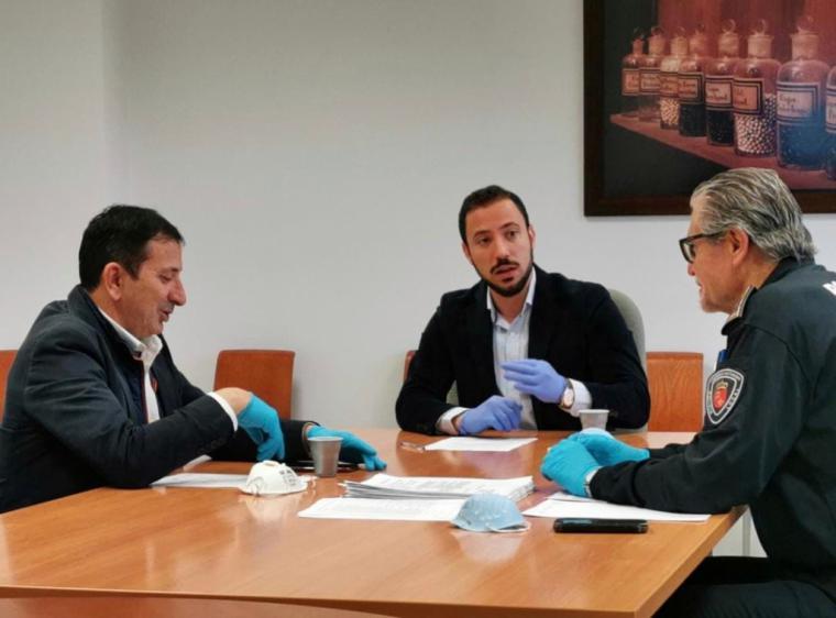 Los Concejales de Comercio y Seguridad Ciudadana de Lorca destacan la ejemplar actuación de los comerciantes, así como la gran labor de la Policía Local en la concienciación social en relación al coronavirus