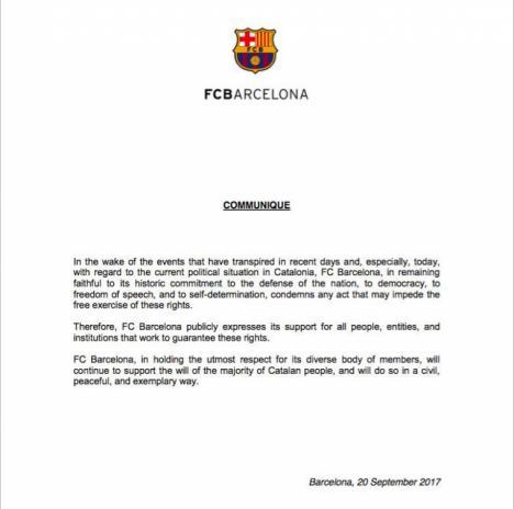 Bertomeu mete al Barça en política