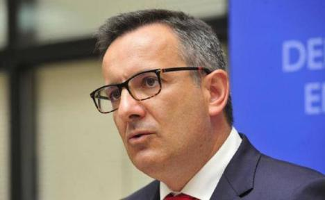 """Diego Conesa: """"Nos ponemos a disposición del Gobierno regional para consensuar los proyectos que necesita la Región para solicitar fondos europeos"""""""