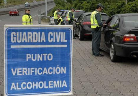 La Jefatura Provincial de Tráfico continúa con la campaña de control de tasa de alcoholemía y presencia de drogas a conductores