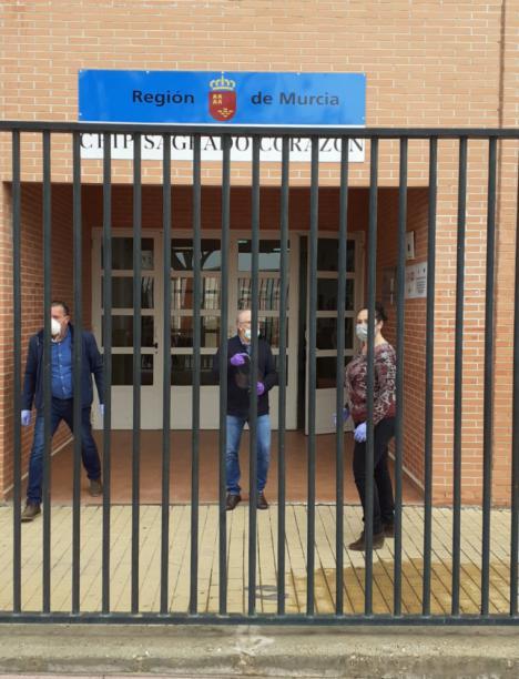 El Ayuntamiento de Lorca pone en marcha un servicio de coordinación de recogida de material didáctico en los centros escolares del municipio