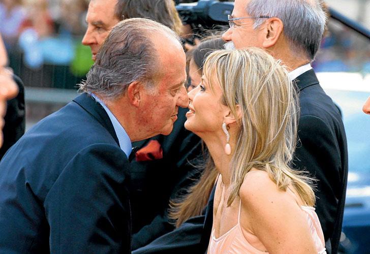 Sale a la luz un nuevo lío de faldas de Juan Carlos I con una modelo.