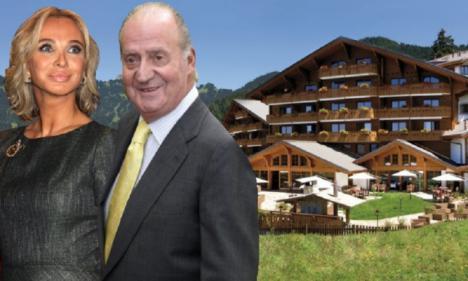 Juan Carlos transfirió dos millones de euros a Corinna para comprar dos apartamentos en Suiza