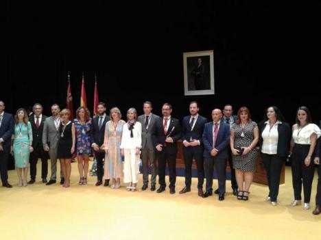 El Alcalde de Lorca anuncia las delegaciones de las concejalas y concejales que formarán el equipo de gobierno municipal