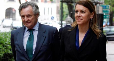 Lopez del Hierro, marido de Cospedal multiplicó por 14 los ingresos de su empresa el año en que la hoy Ministra de Defensa llegó a la Junta de Castilla- la Mancha