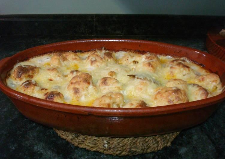 Cazuela de coliflor de la yaya