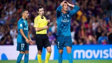 Cristiano Ronaldo sancionado con cinco partidos.