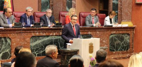 El PSOE de Murcia ofrece una propuesta de mínimos para acordar unos presupuestos regionales de rescate y justicia social