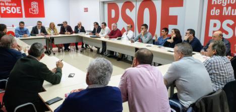 Los alcaldes y alcaldesas del PSRM lamentan que la reunión convocada por López Miras