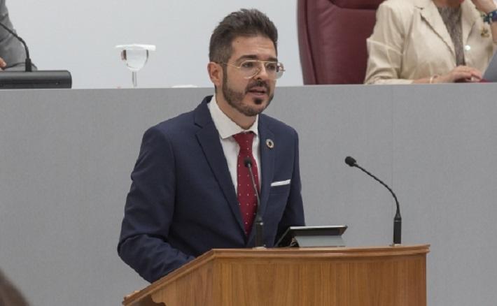 """Antonio José Espín: """"La planificación del inicio del curso deja en evidencia la incompetencia de López Miras y su gobierno"""""""